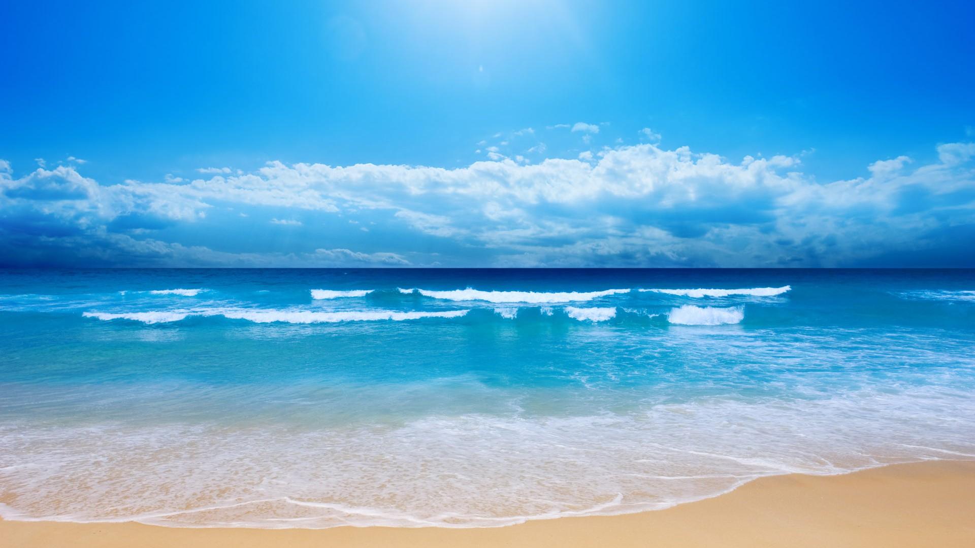 the beautiful seaside scenery - photo #1