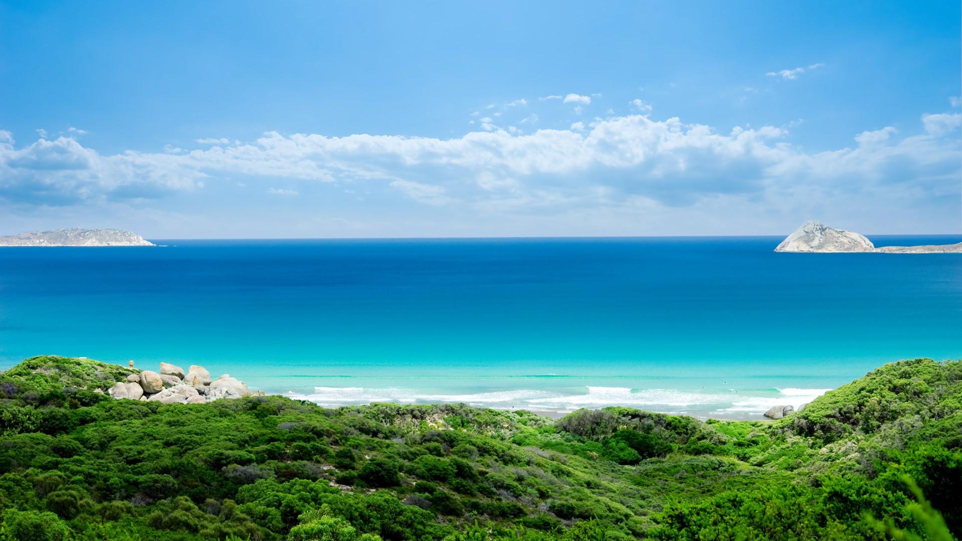 the beautiful seaside scenery - photo #2