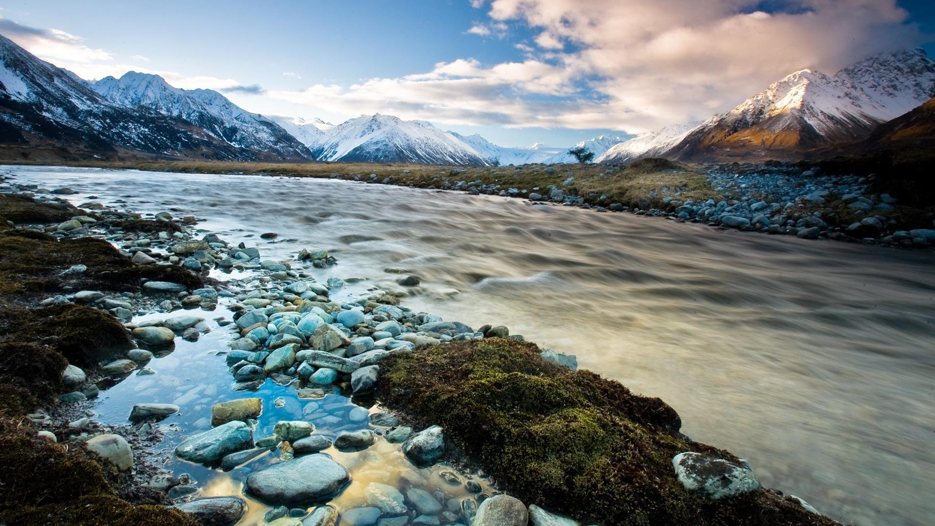 Souvent Nouvelle-Zélande papier peint paysage pittoresque #26 - 1920x1080  IA95