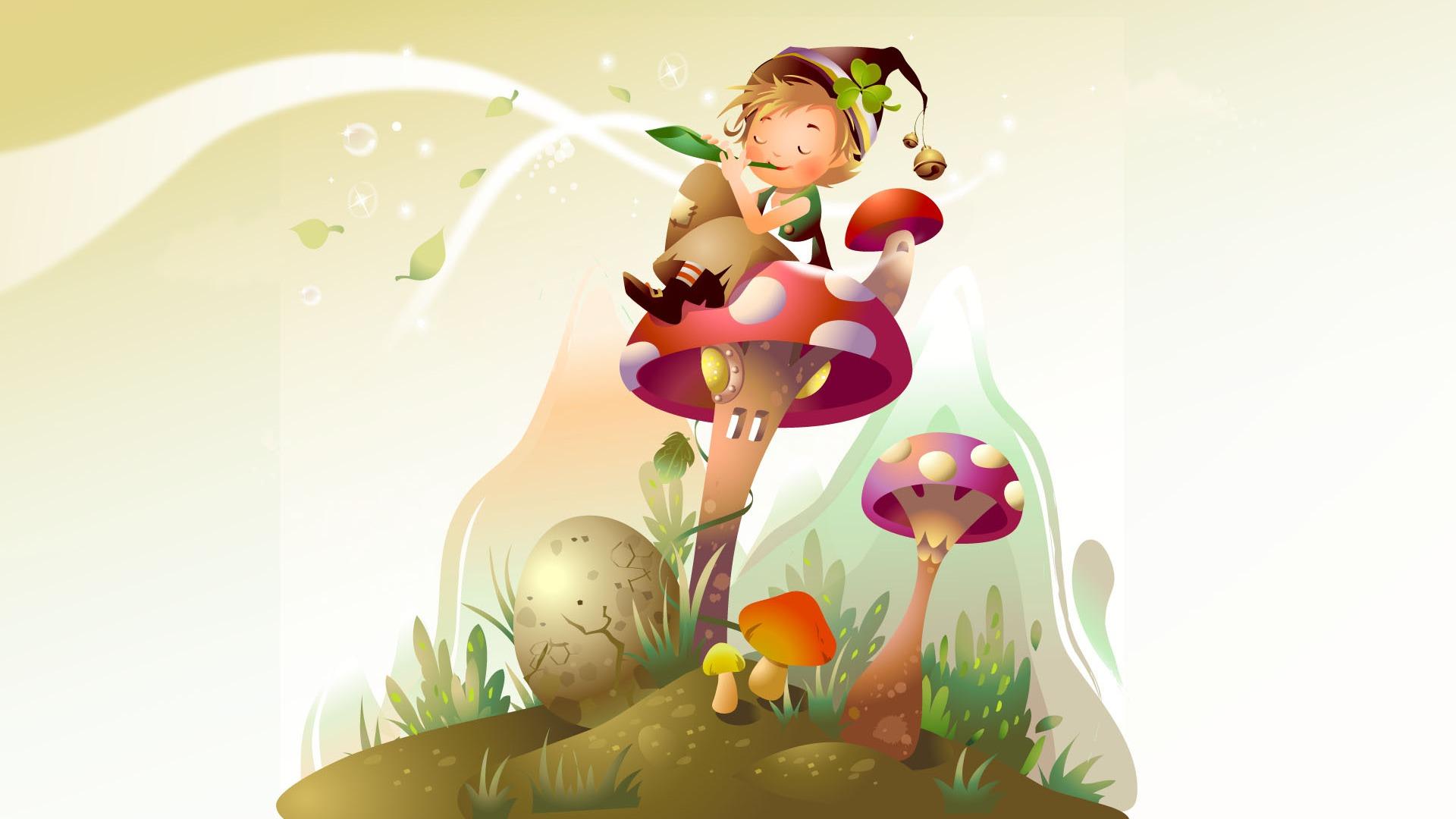 fairy tales vector wallpaper (2) #10 - 1920x1080 wallpaper download