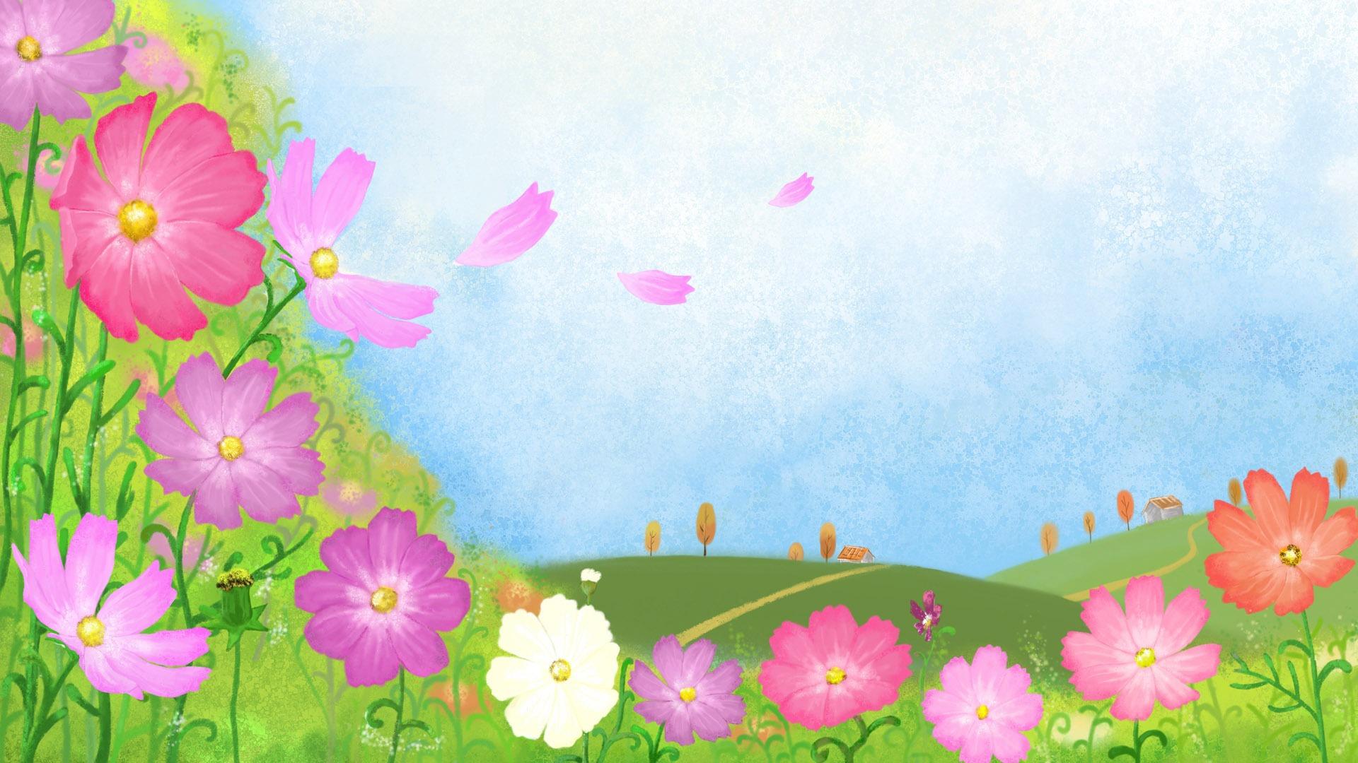 Descripción : fondo de pantalla de dibujos animados grandes (3) #7