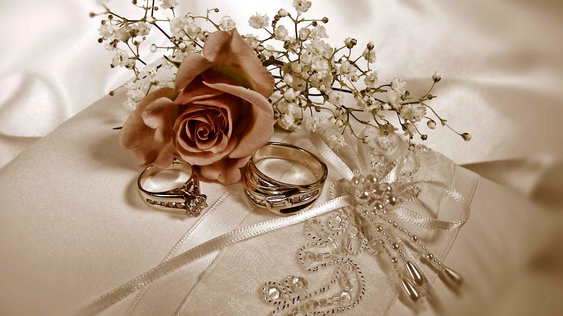 Mariage Fond D écran Hd Télécharger: Mariage Et Papier Peint Anneau De Mariage (1) #13