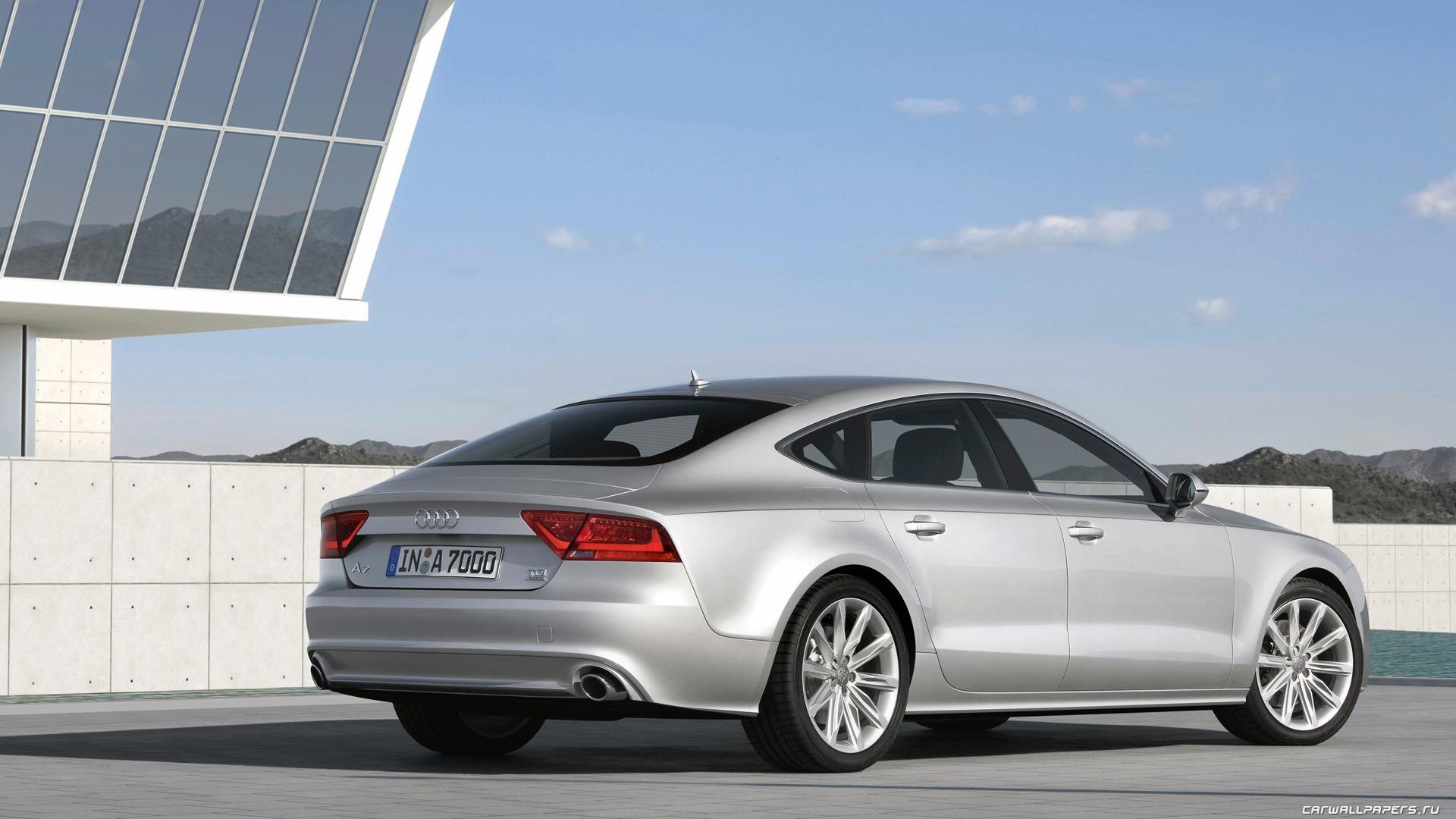 Audi A7 Sportback 3.0 TDI quattro - 2010 fonds d'écran HD #8 ...