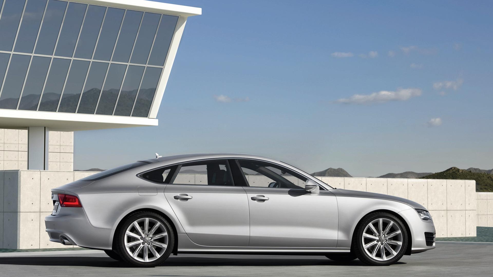 Audi A7 Sportback 3.0 TDI quattro - 2010 HD Wallpaper #9 - 1920x1080 ...