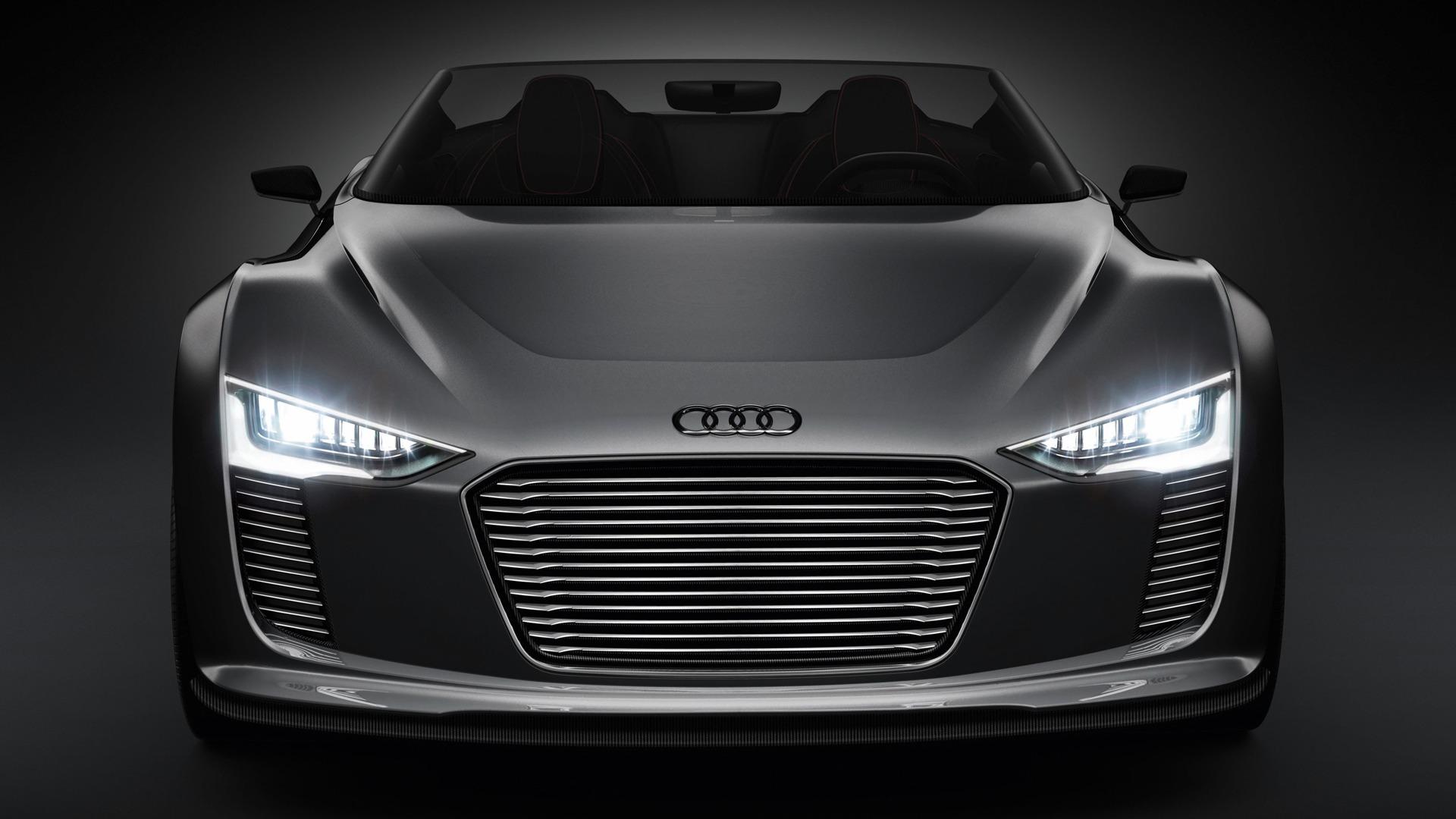 컨셉 아우디 자동차 전자 Tron 스파이더 2010의 Hd 배경 화면 9 1920x1080 배경