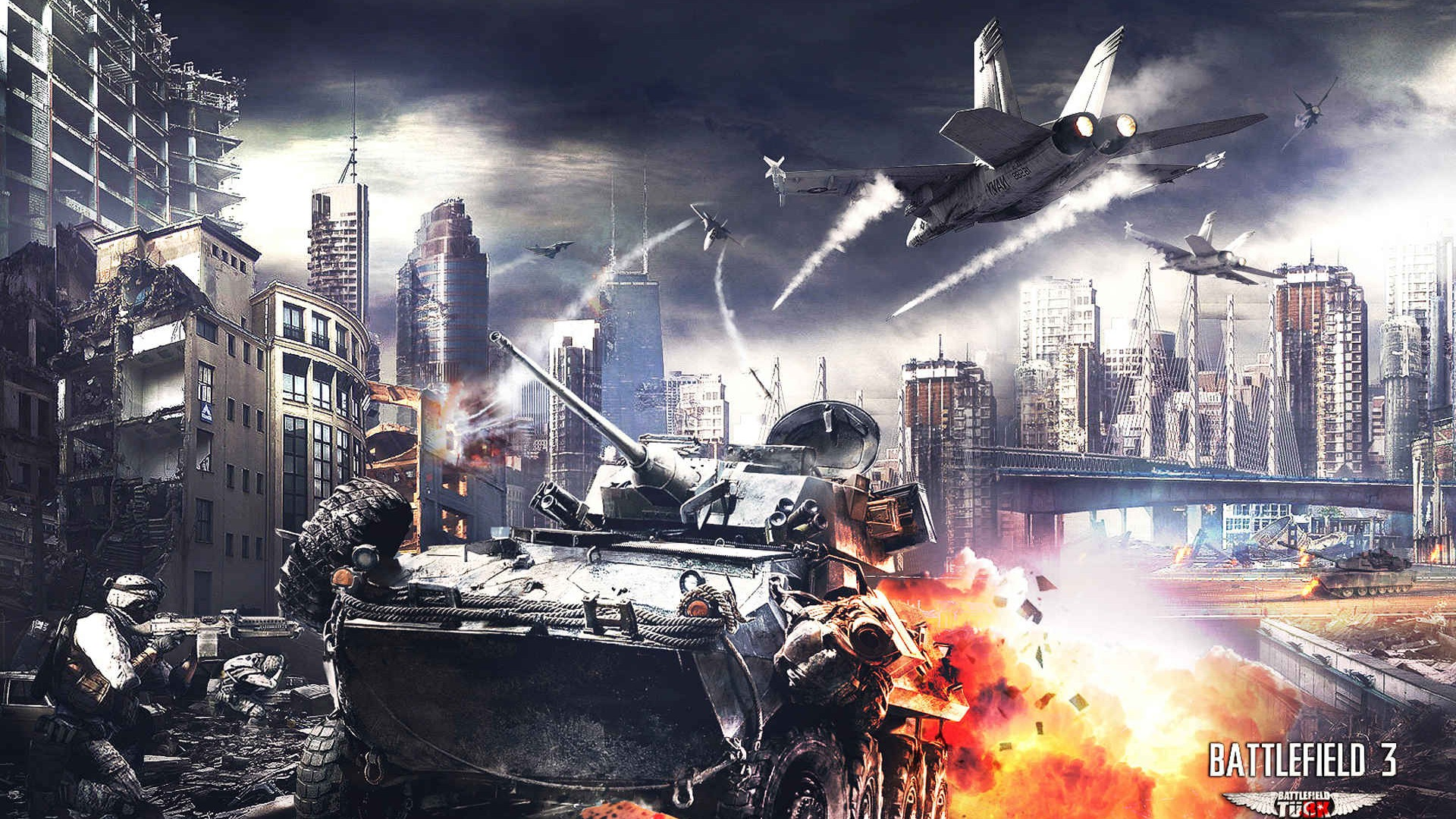 battlefield 3 hd wallpapers #25 - 1920x1080 wallpaper download