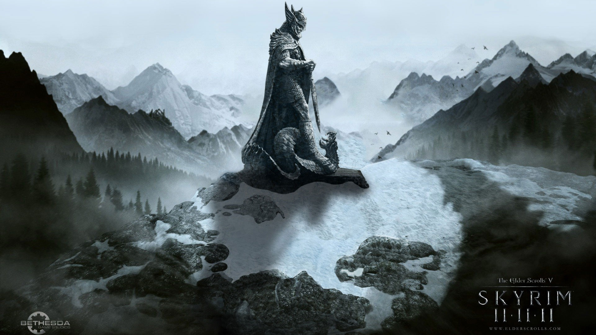 elder scrolls skyrim wallpaper 1920x1080