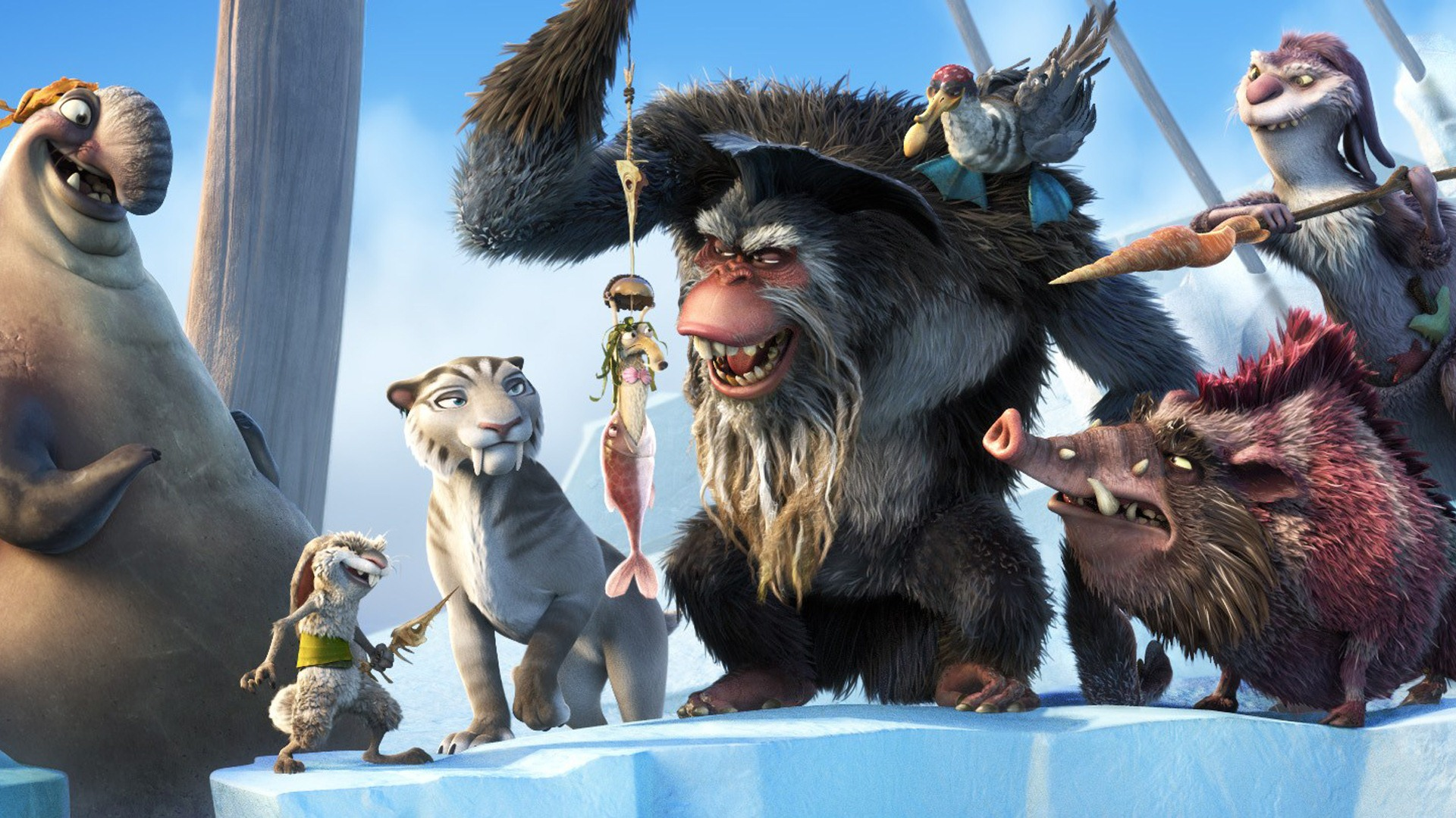 ice age 4: continental drift hd wallpapers #13 - 1920x1080 wallpaper