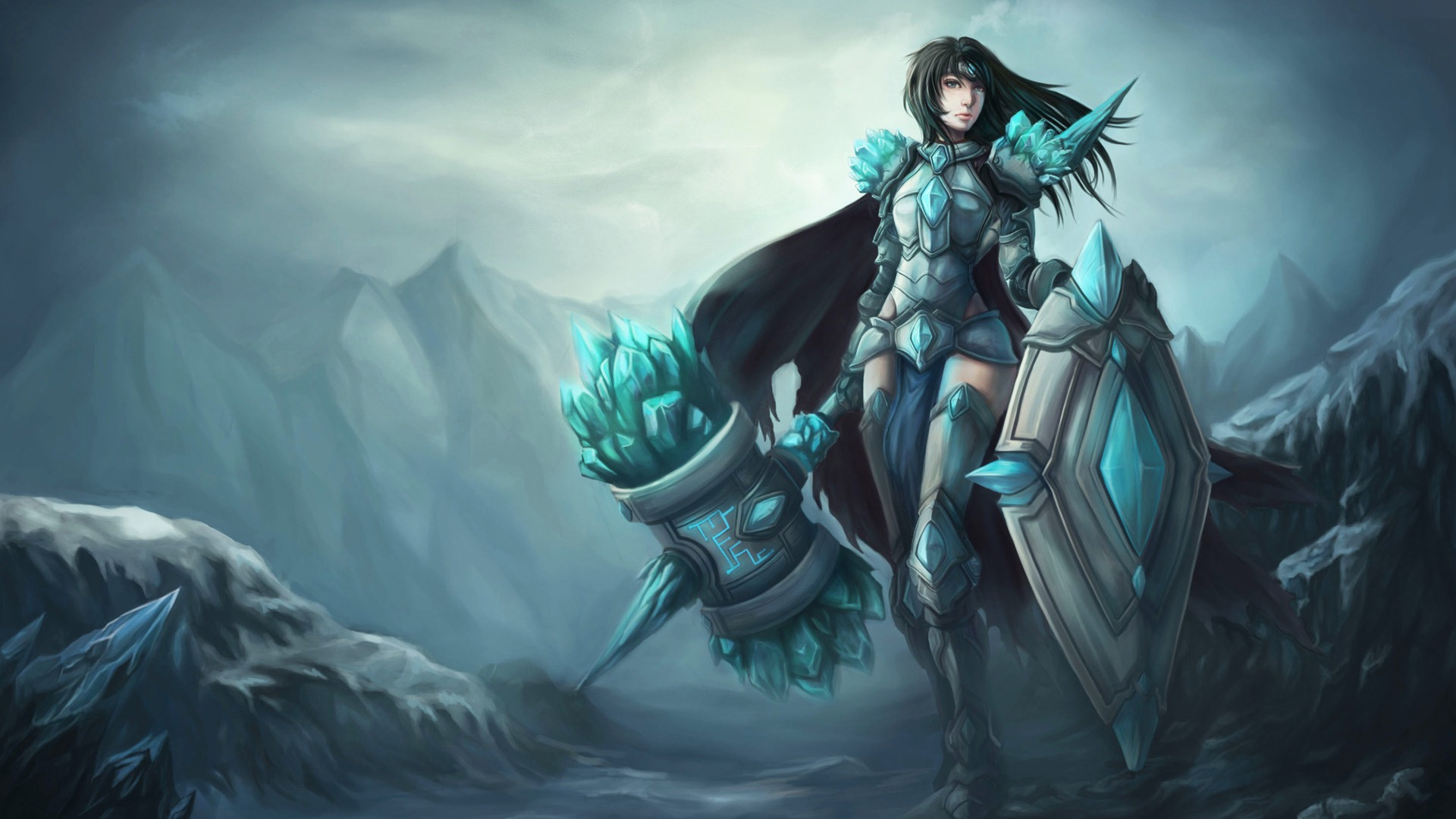 League of Legends beautiful girl wallpapers #10 - 1920x1080.
