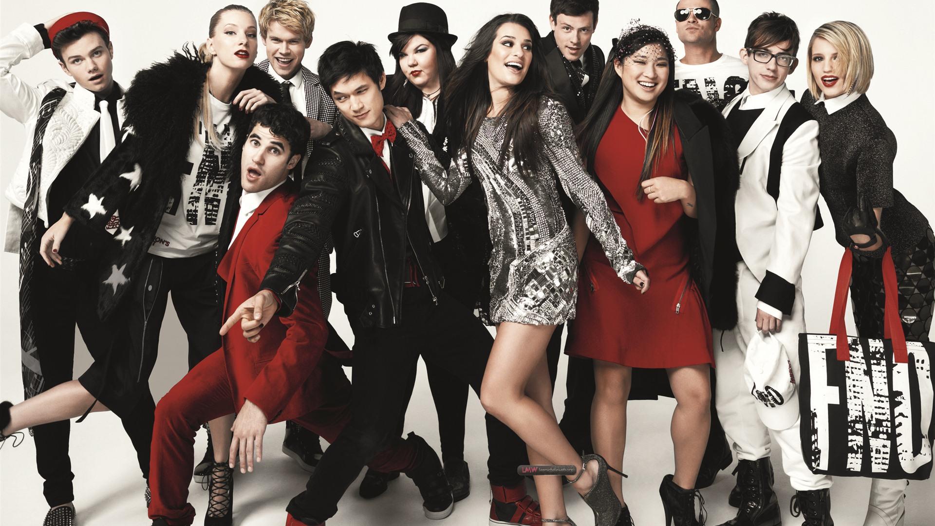 Glee S Ries Tv Hd Fonds D 39 Cran 5 1920x1080 Fond D