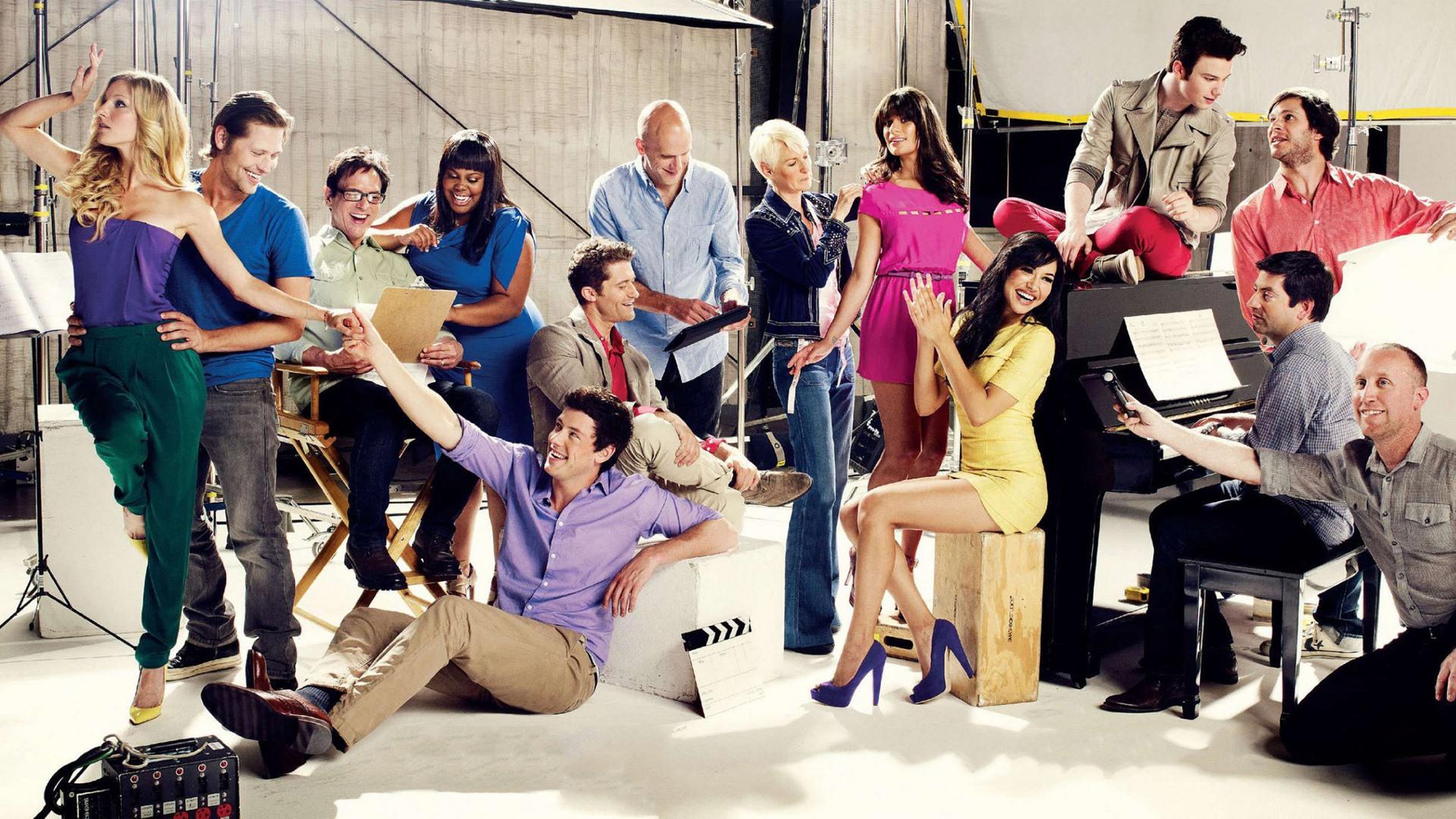 Glee S Ries Tv Hd Fonds D 39 Cran 9 1920x1080 Fond D