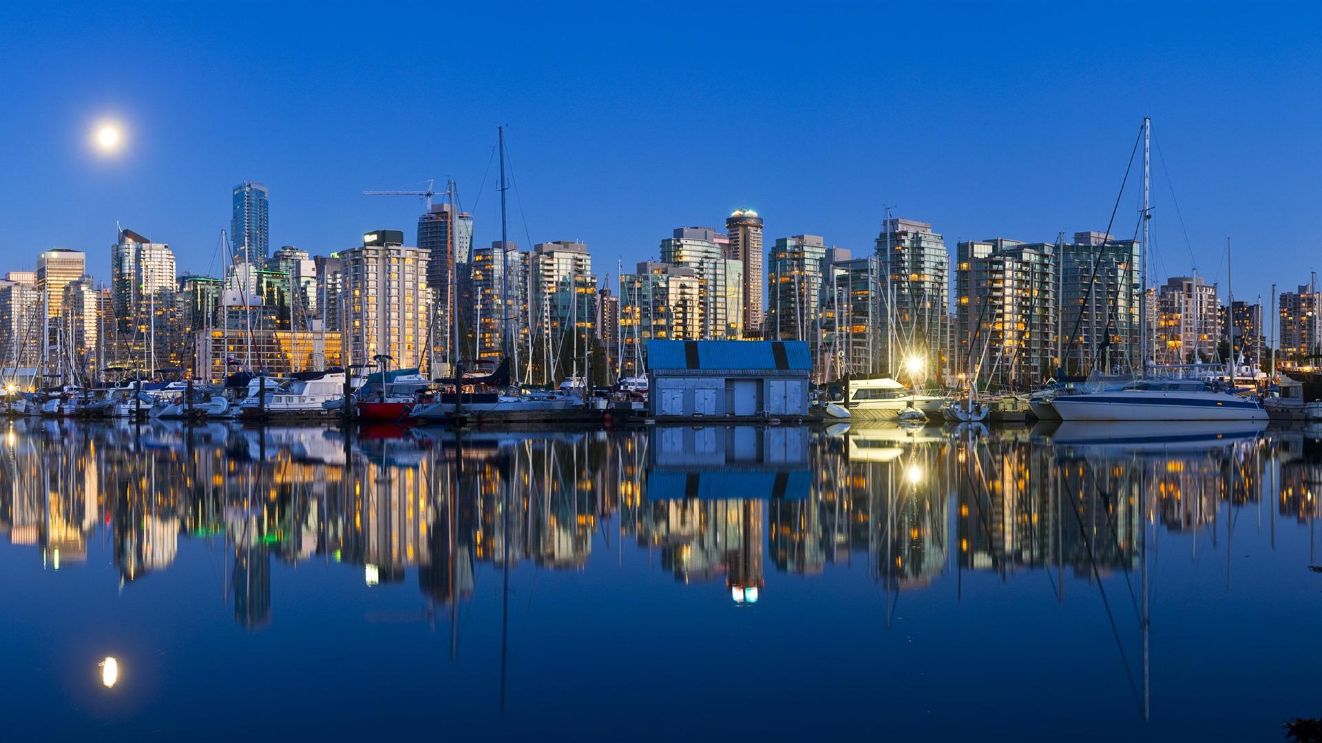 Windows 8 fond d 39 cran officiel panoramique paysage urbain pont horizo - Definition de panoramique ...