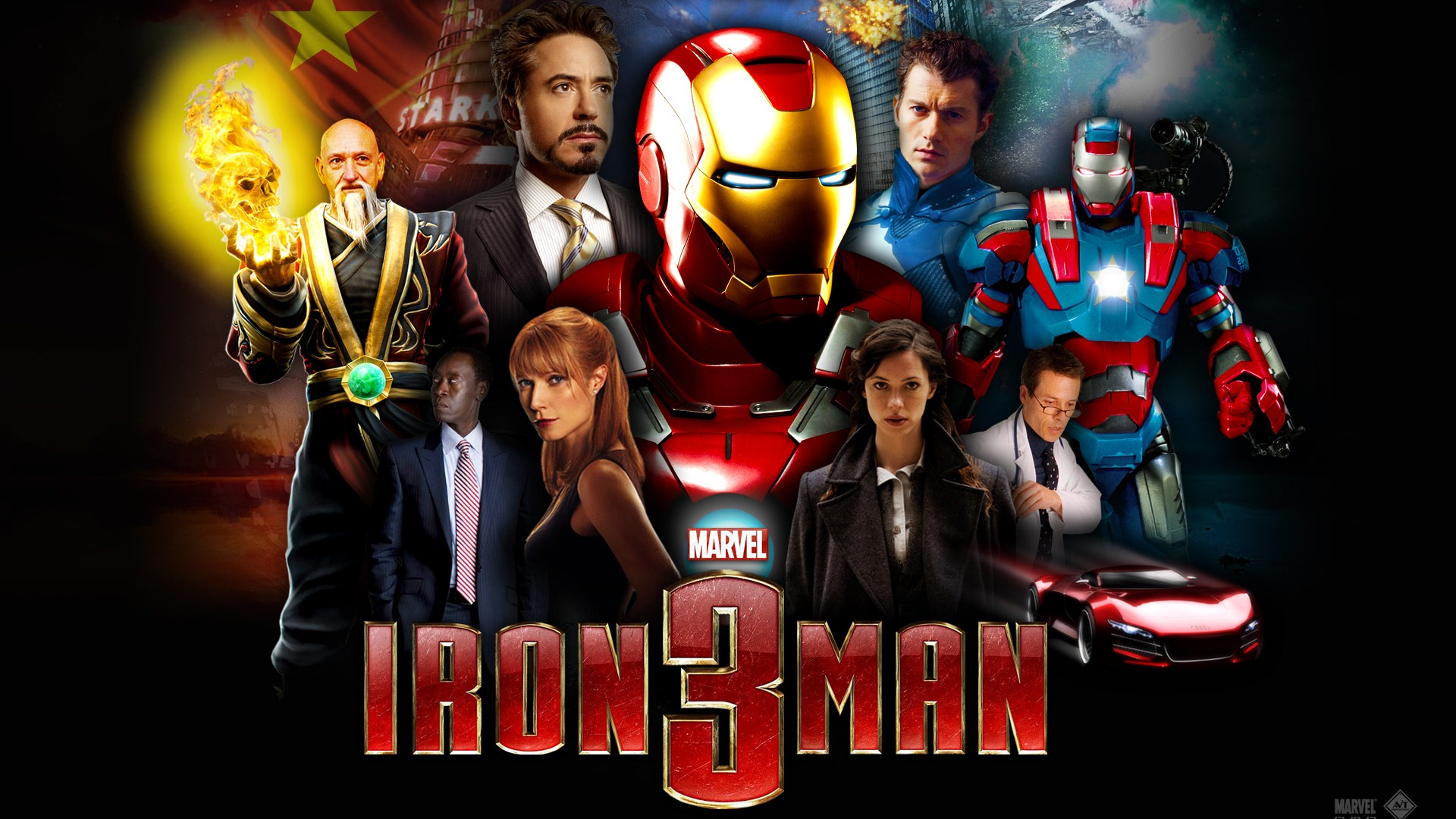 Iron man 3 fonds d 39 cran hd 2 1920x1080 fond d 39 cran - Iron man 2 telecharger ...