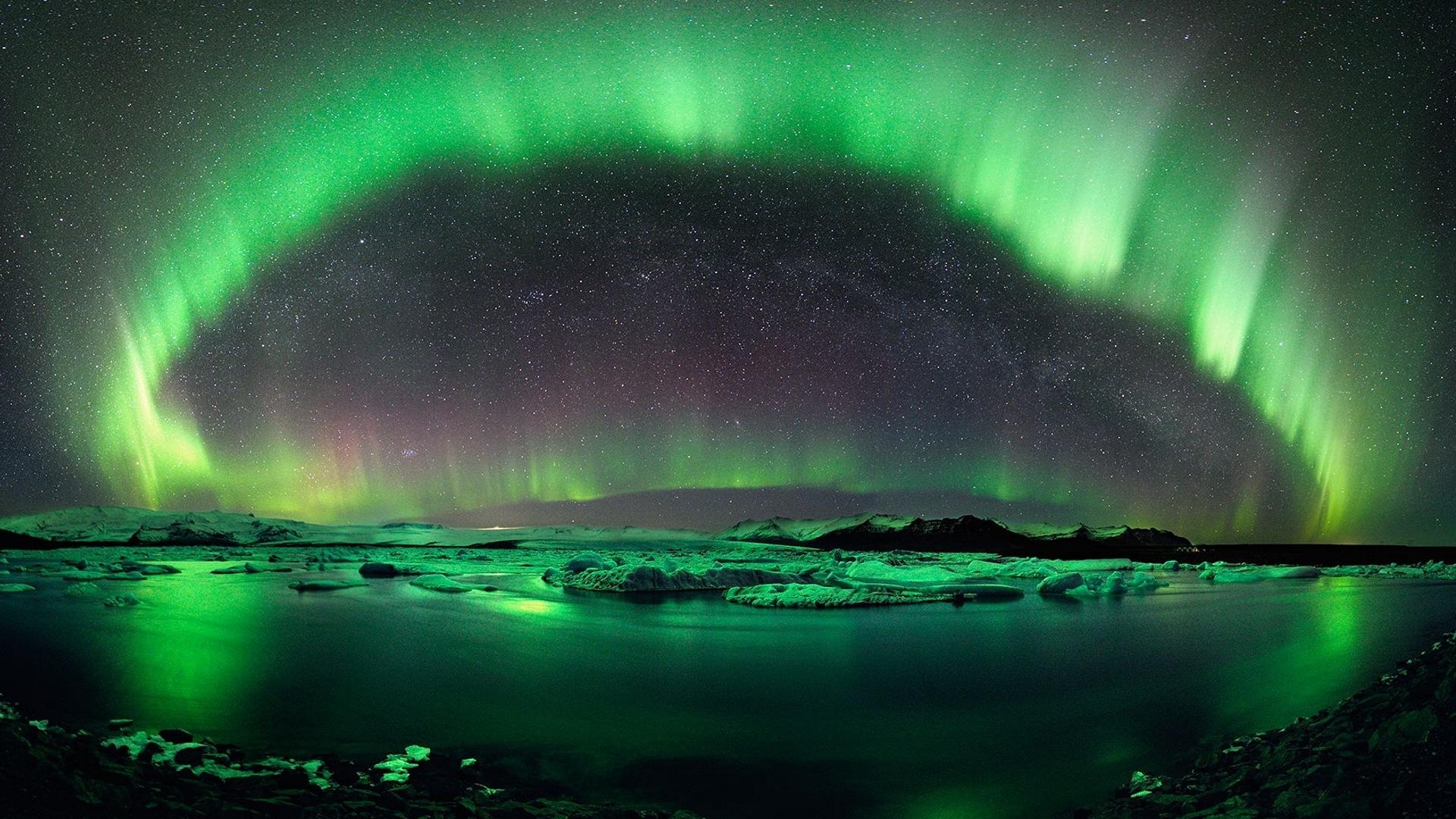 Merveille du Monde Naturelle Merveilles Naturelles du Nord
