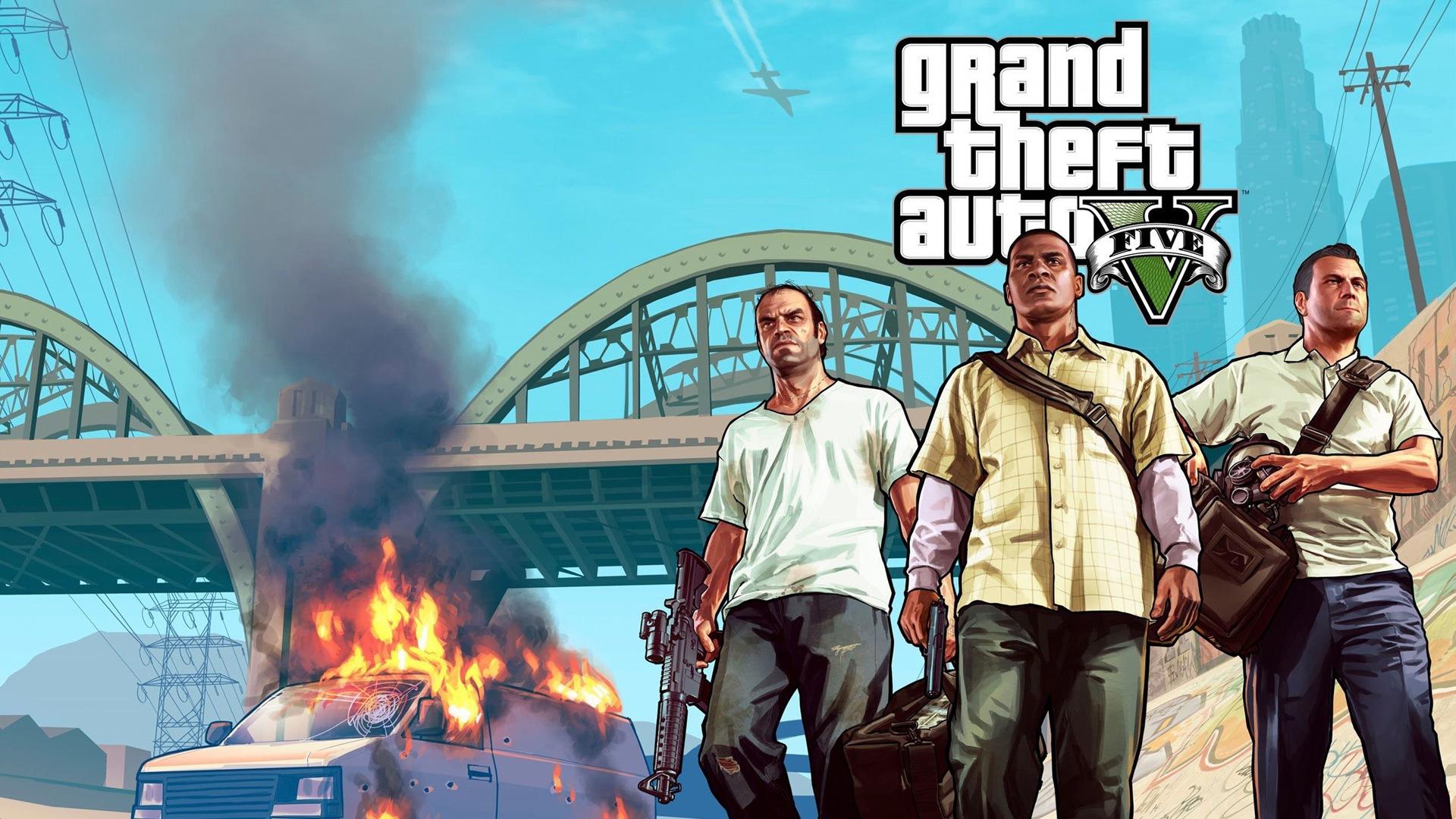 Grand Theft Auto V Gta 5 Fonds D Ecran De Jeux Hd 7 1920x1080 Fond D Ecran Telecharger Grand Theft Auto V Gta 5 Fonds D Ecran De Jeux Hd Jeu Fond