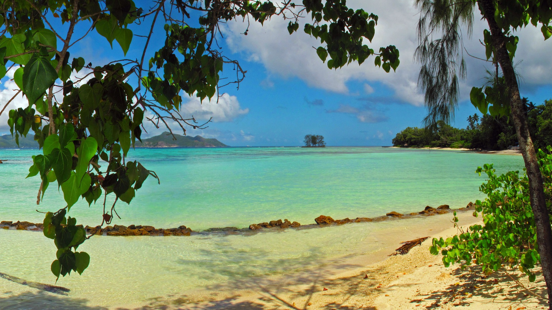 Seychelles le nature paysage wallpapers hd 7 1920x1080 for Fond ecran ete hd