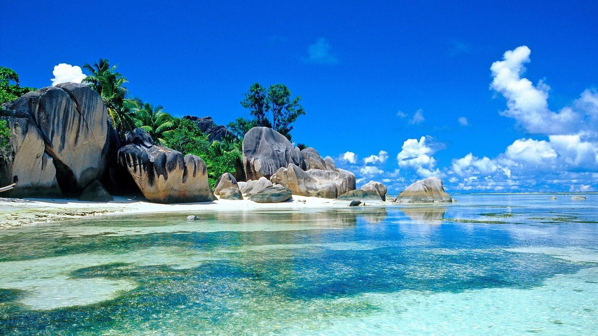 Islas Seychelles Naturaleza Paisaje Hd Wallpapers 11