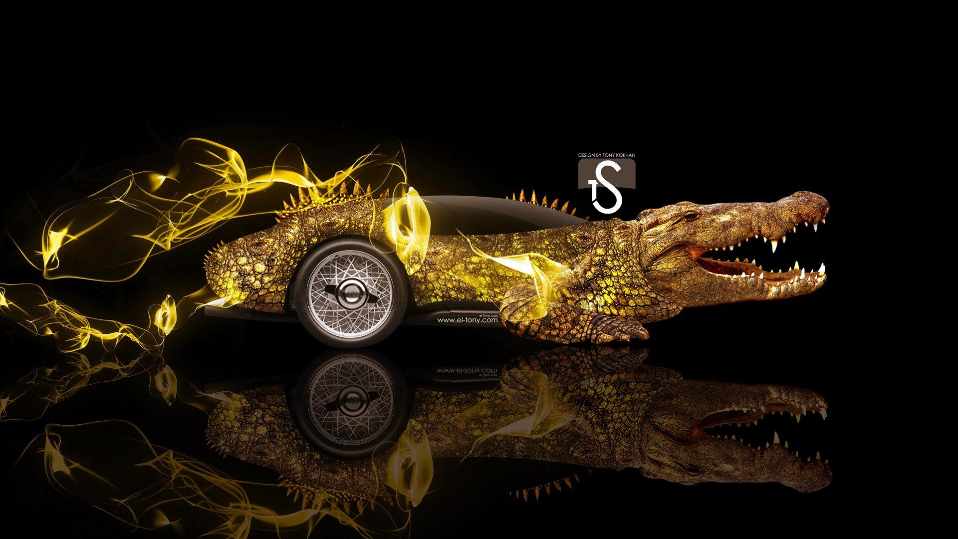 梦幻创意汽车设计壁纸,动物汽车12 - 1920x1080图片