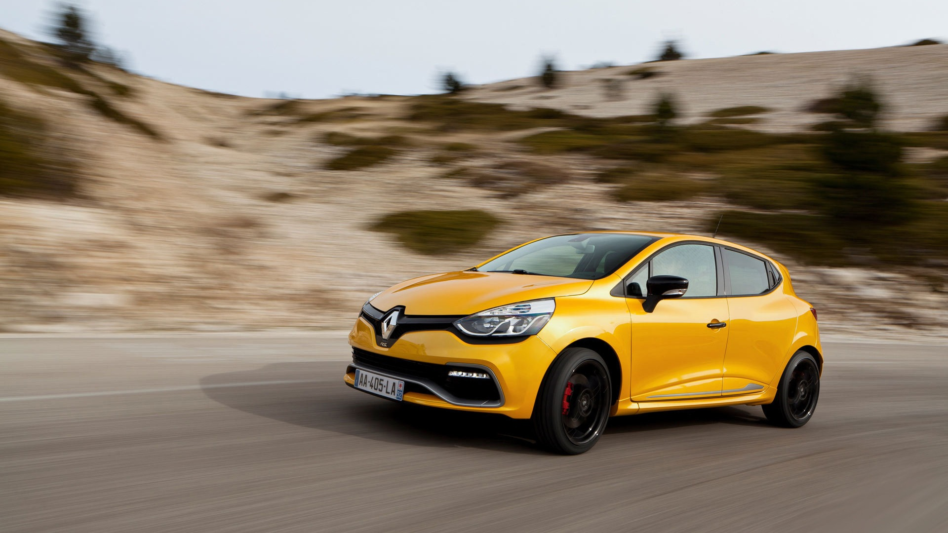 2013 Renault Clio Rs 200 Yellow Color Car Hd Wallpapers 2 1920x1080 Wallpaper Download 2013 Renault Clio Rs 200 Yellow Color Car Hd Wallpapers Auto Wallpapers V3 Wallpaper Site