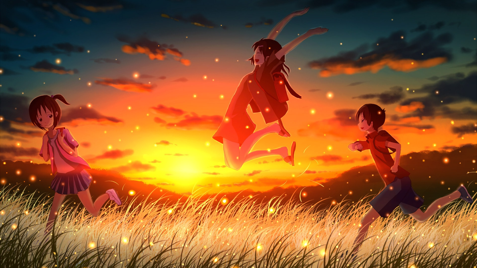 Firefly Summer beautiful anime wallpaper #1 - 1920x1080 ...