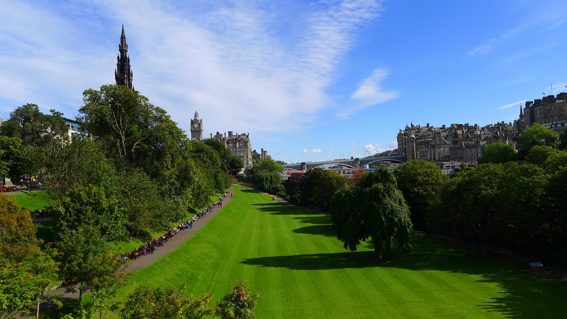 Beautiful City Of Edinburgh Scotland Hd Wallpapers 18