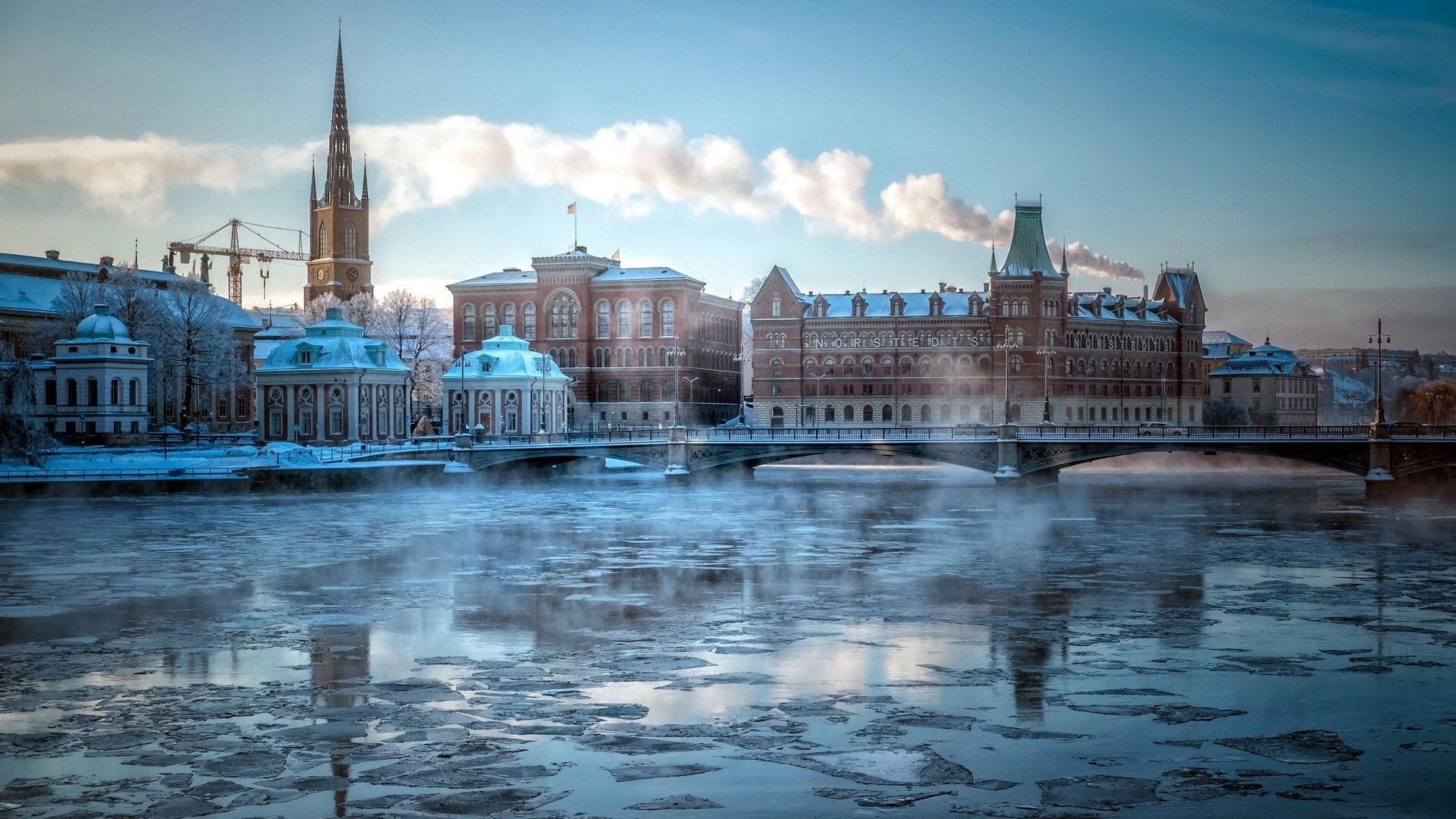 Stockholm su de le fond d 39 cran paysage de la ville 4 for Paysage de ville