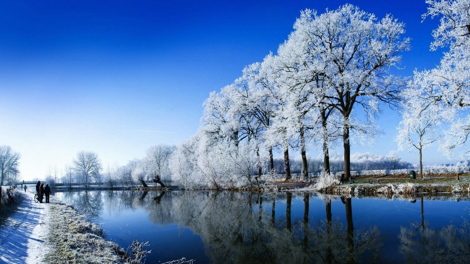Neige d 39 hiver fonds d 39 cran hd magnifique de paysages 1 for Fond ecran hiver hd
