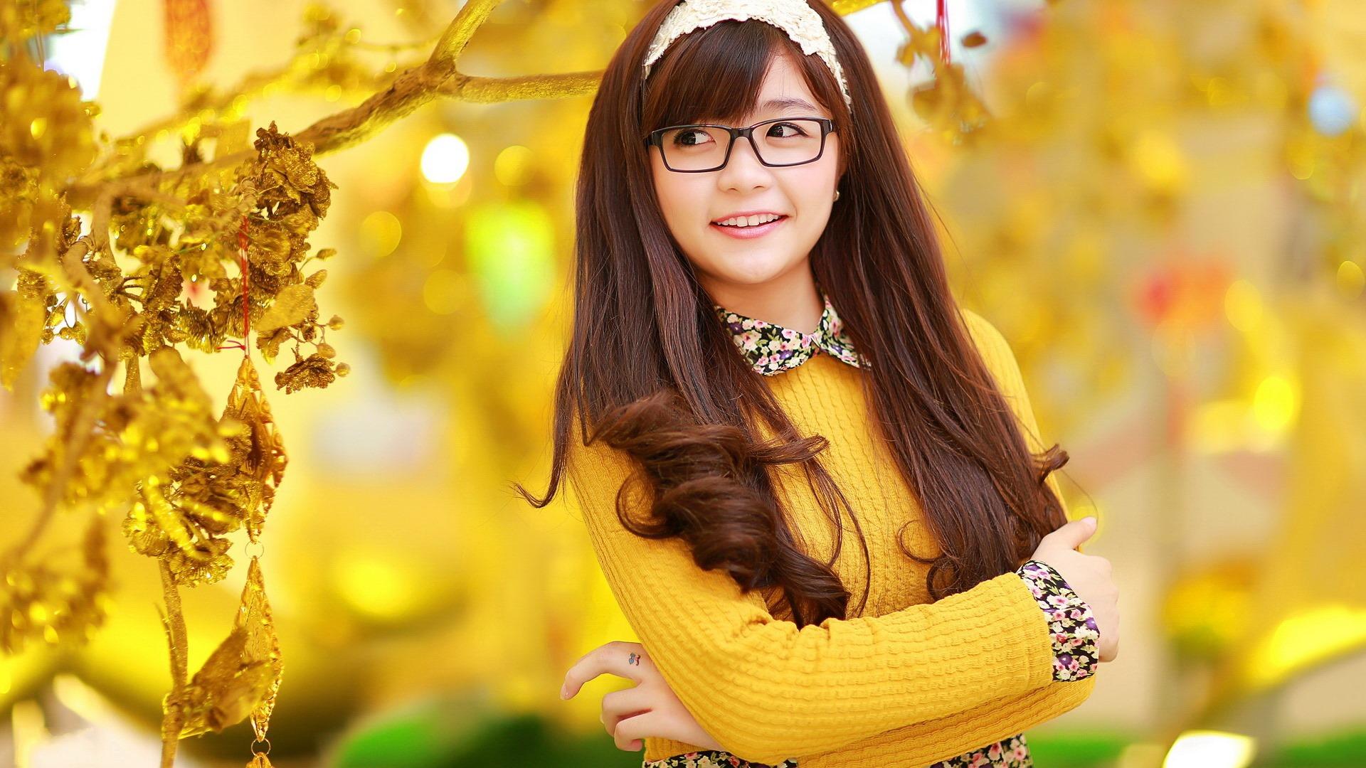 亚洲高清合集一区_清纯可爱年轻的亚洲女孩 高清壁纸合集(一)13 - 1920x