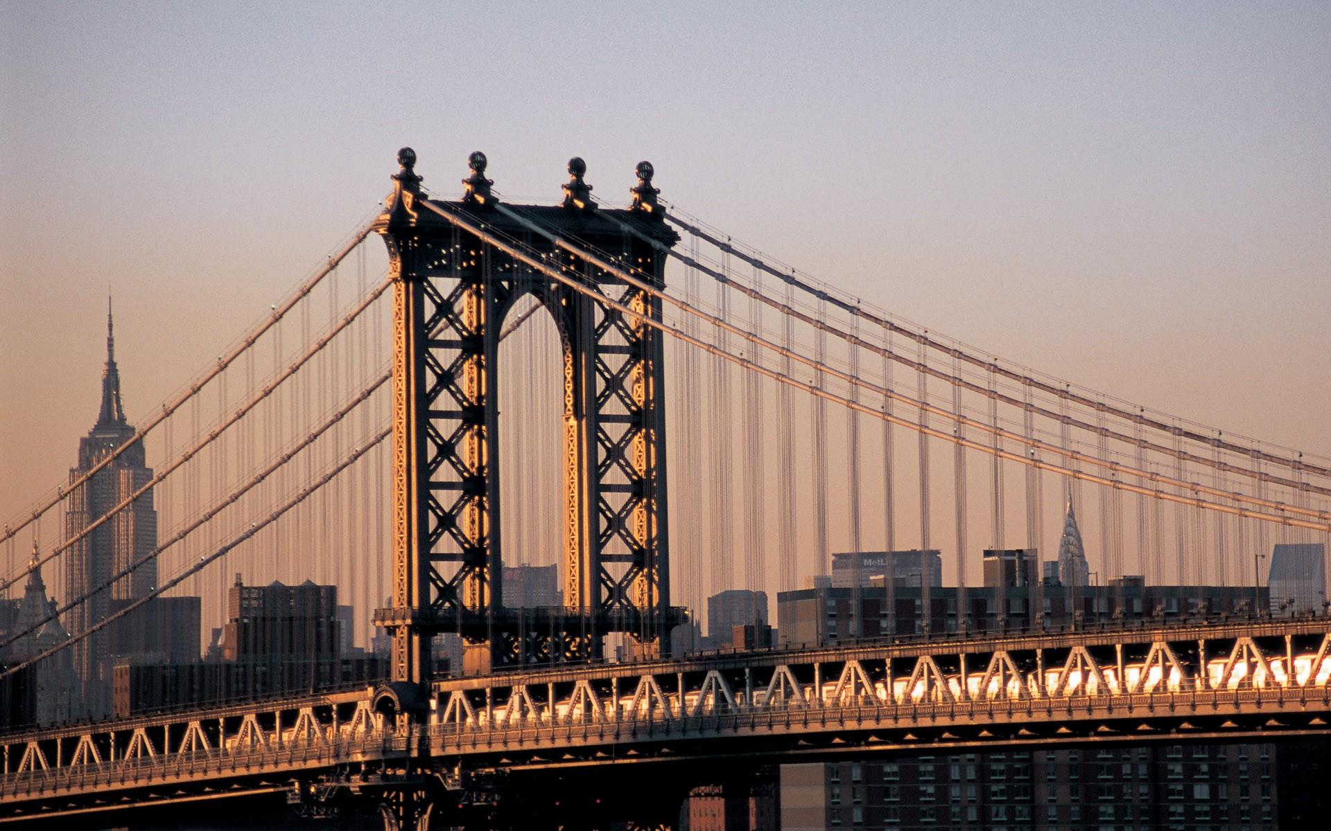 фото нью-йорк мост