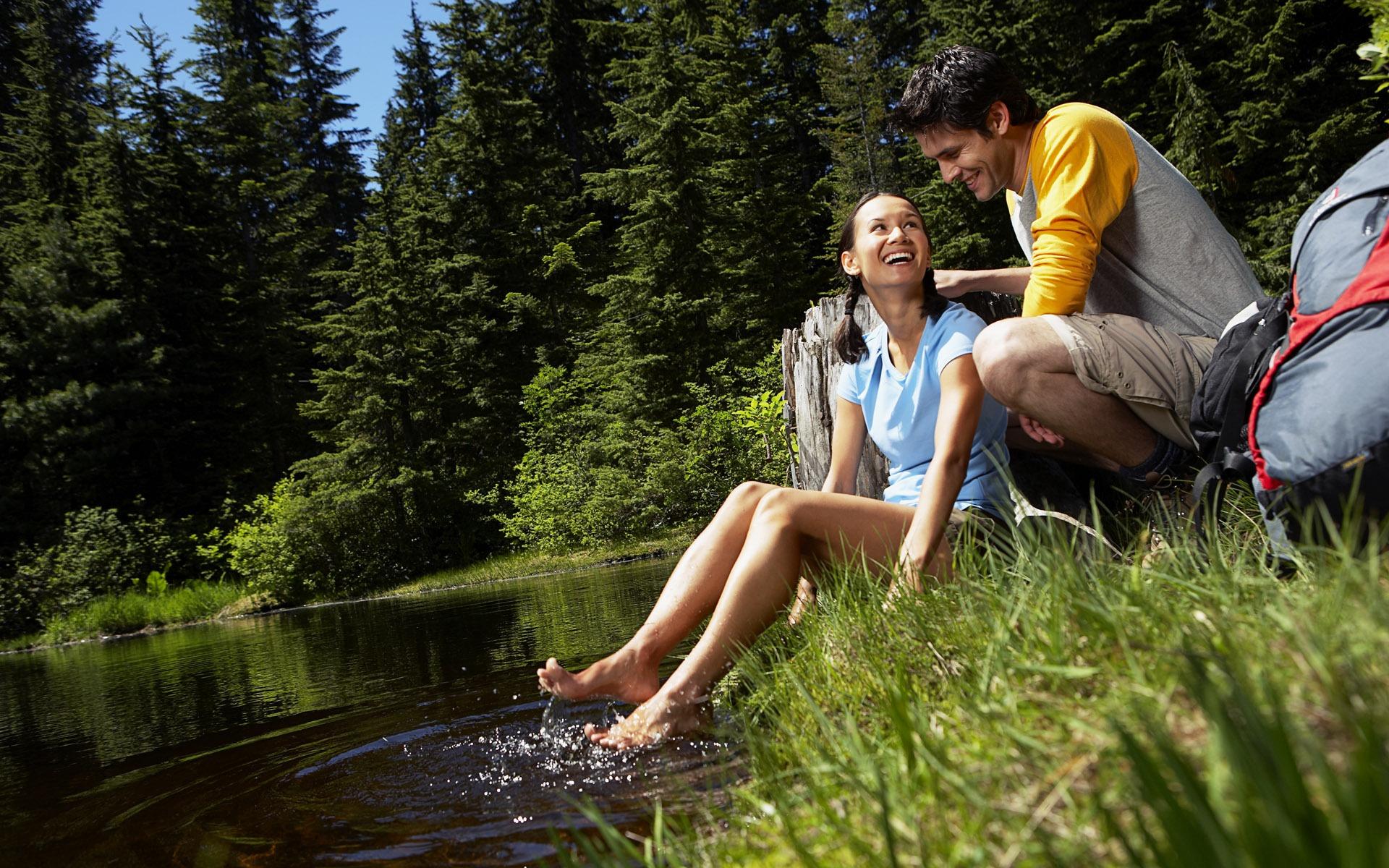 Фото молодежное на природе 3 фотография
