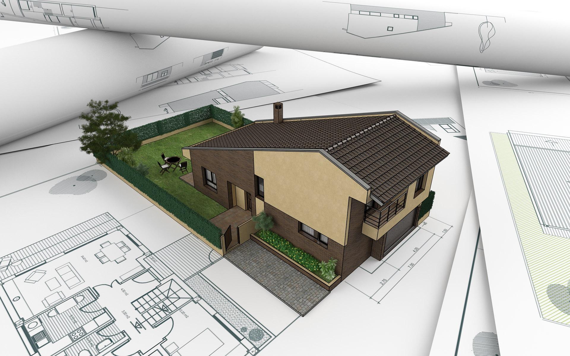 3d Architectural Design Wallpaper 1 14 1920x1200