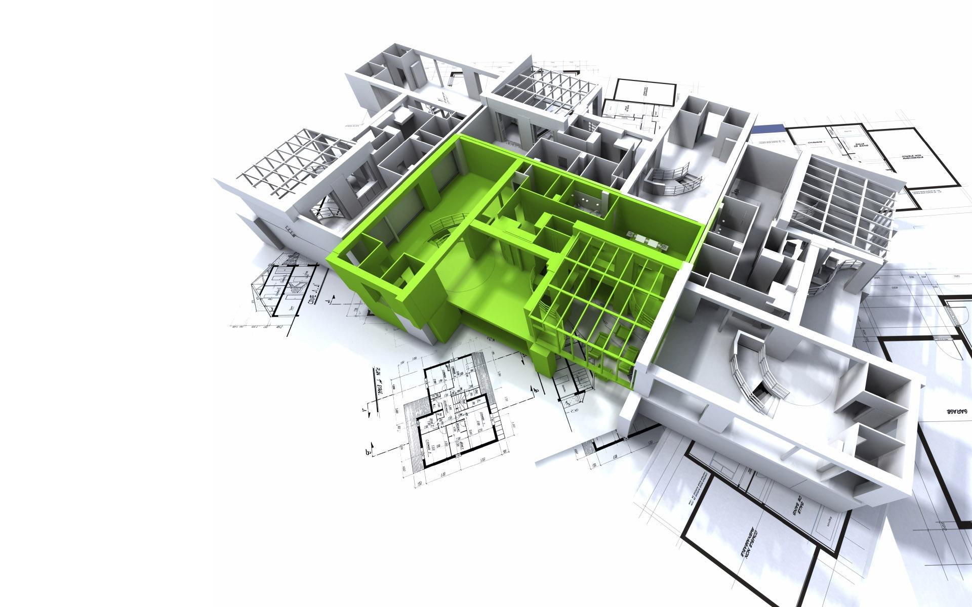 Fondo De Pantalla 3d Dise O Arquitect Nico 2 4
