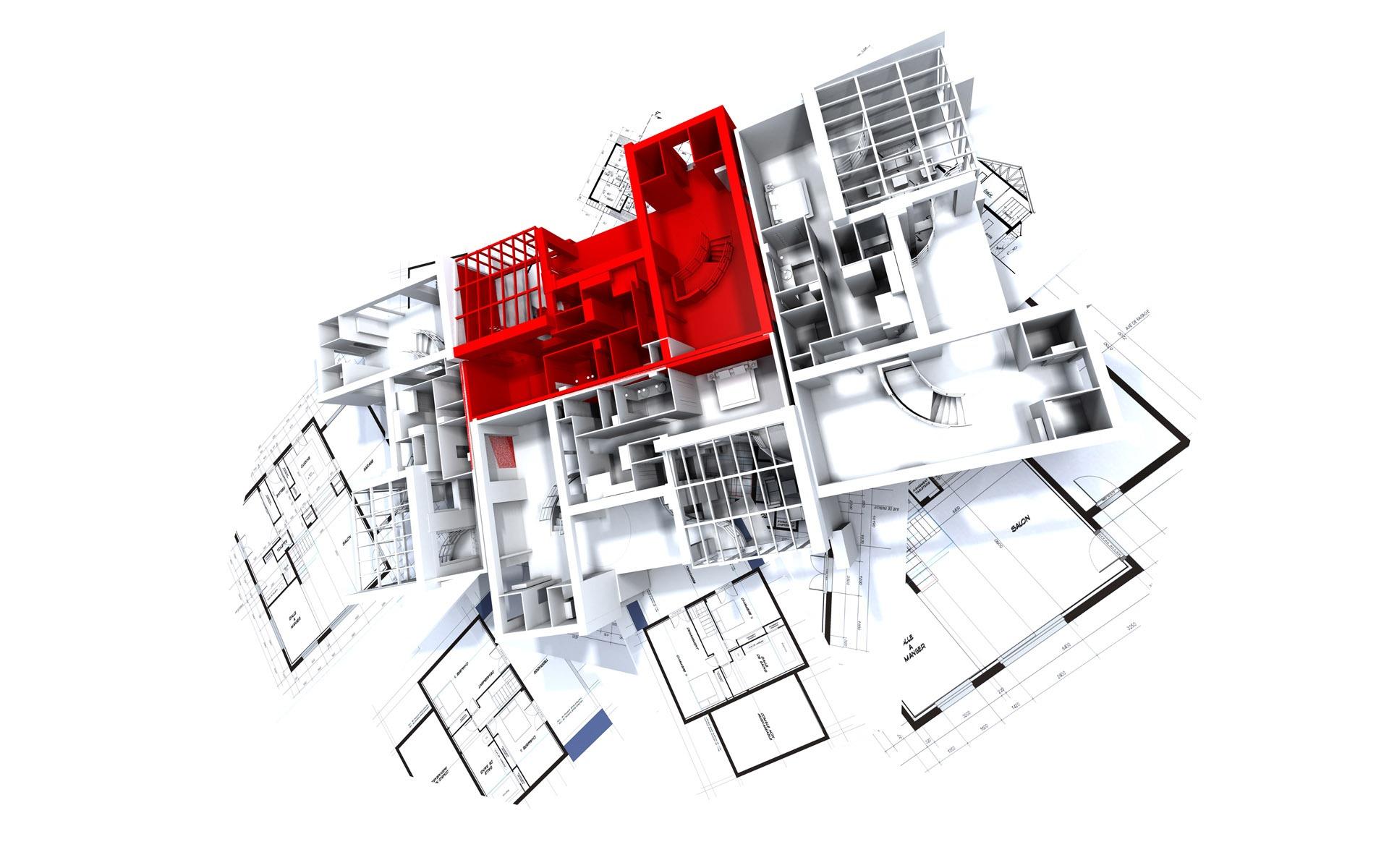 3d architecture wallpaper - photo #23