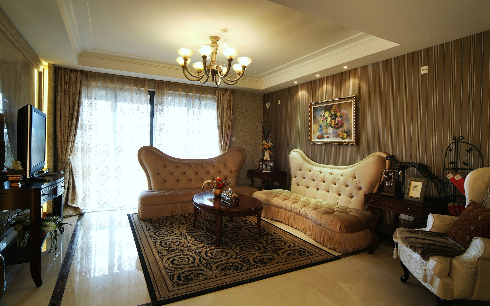 Интерьеры больших комнат