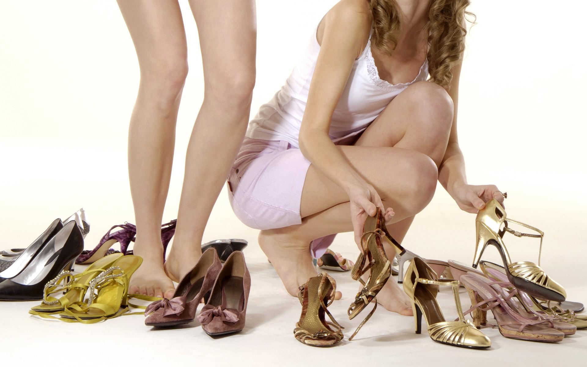 Туфли на девушке 17 фотография