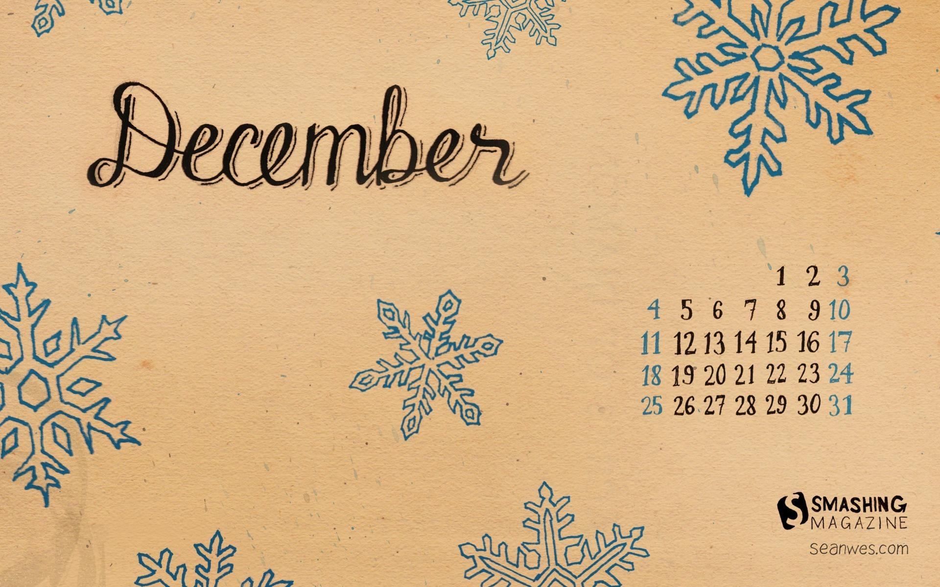 Декабрь календари обои для рабочего стола