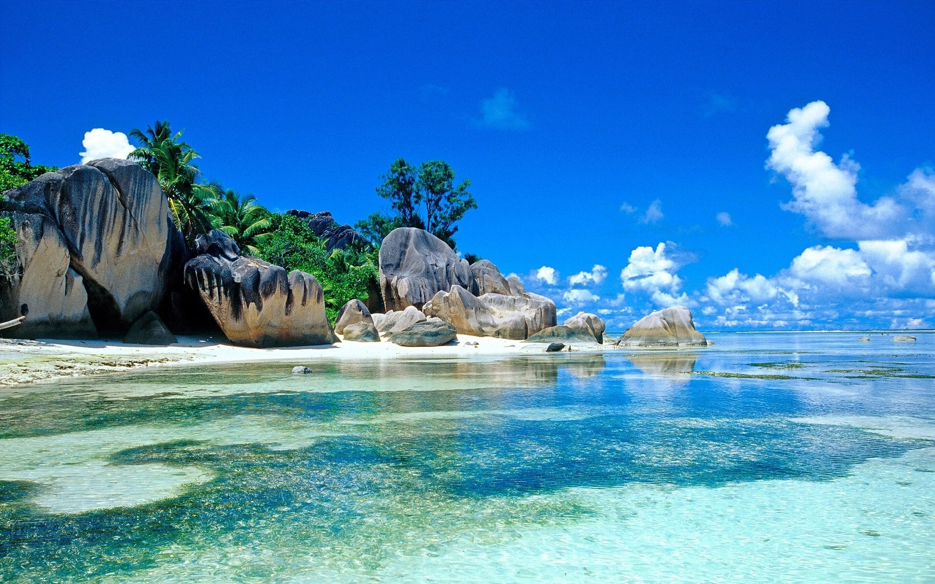 Islas Seychelles Naturaleza Paisaje Hd Wallpapers 11