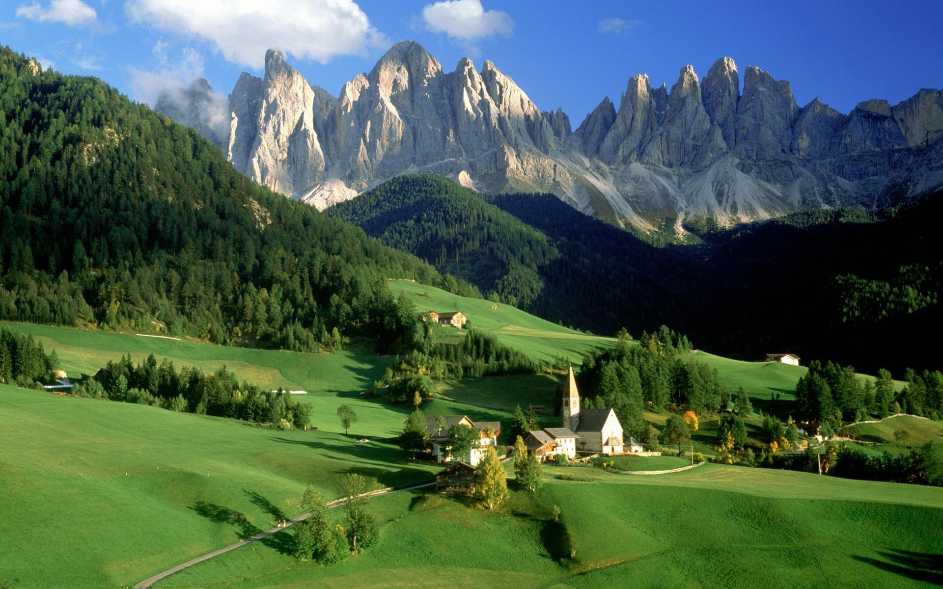 italian natural beauty scenery hd wallpaper #2 - 1920x1200 wallpaper