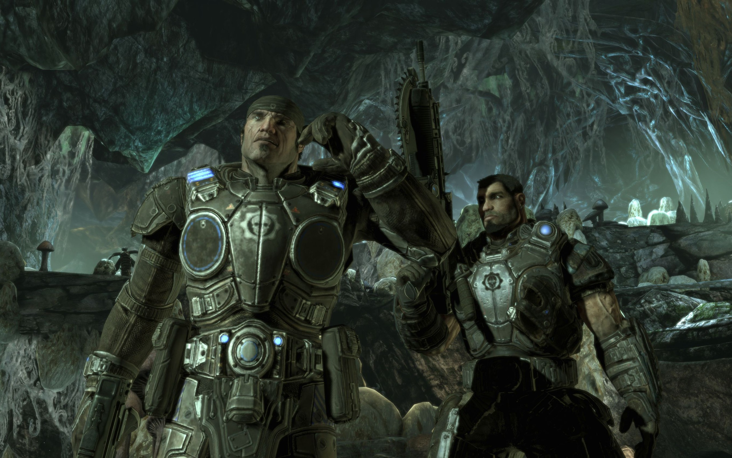 gears of war 2 hd wallpaper (2) #11 - 2560x1600 wallpaper download