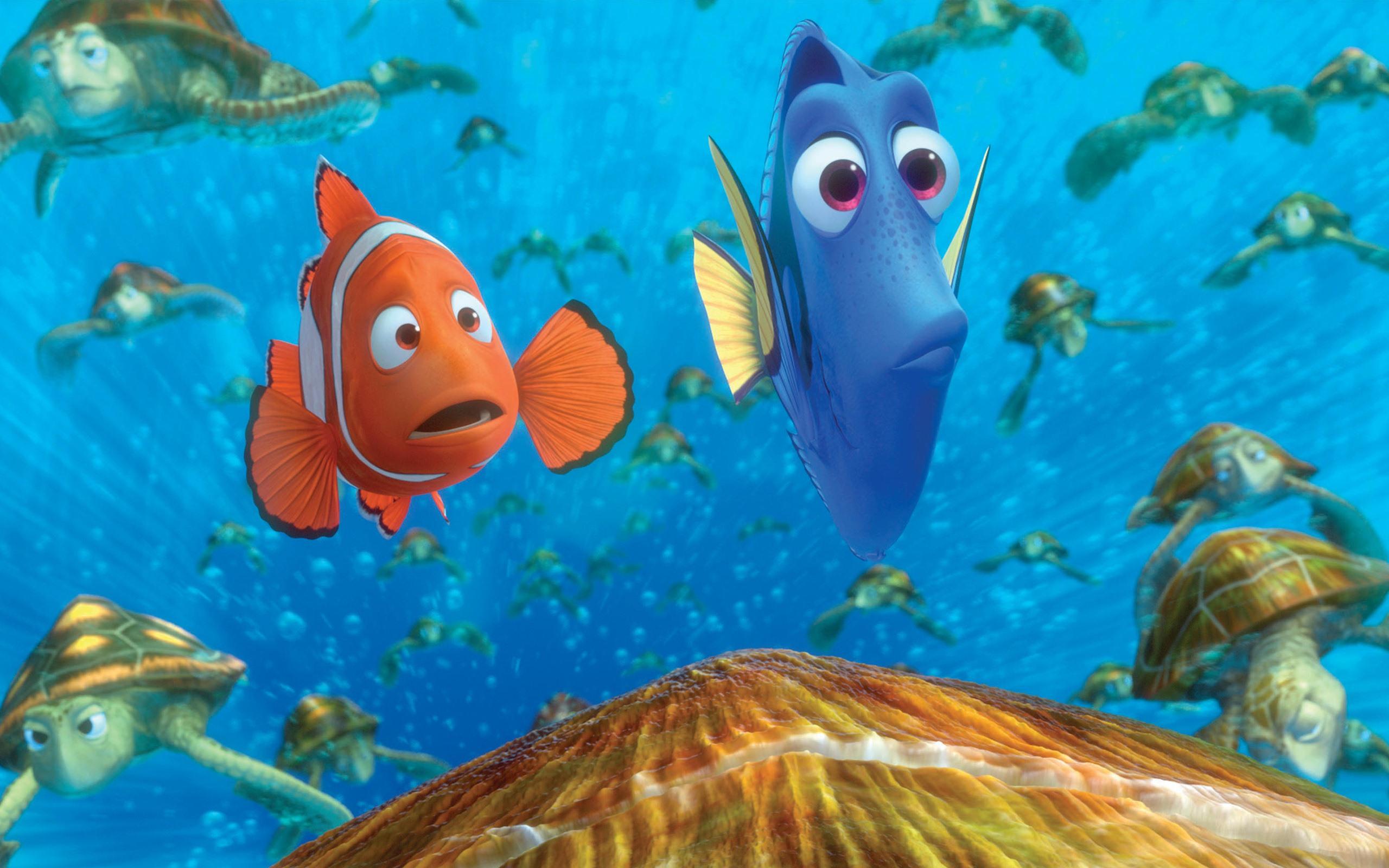 Finding Nemo 3d 2012 Hd Wallpapers 19 2560x1600 Wallpaper