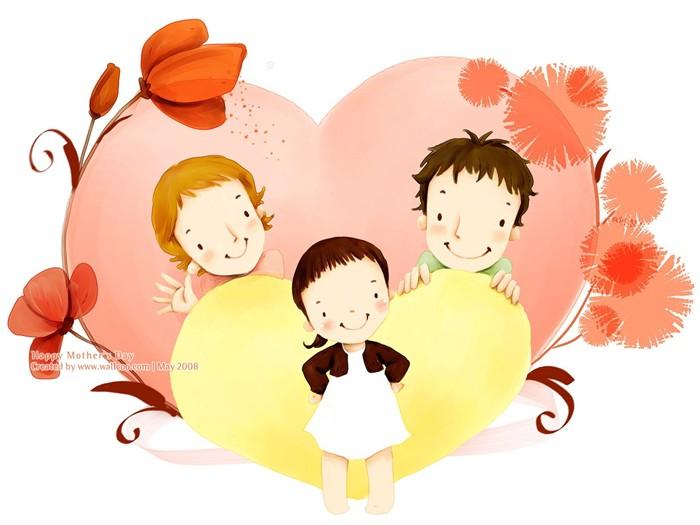 tema de Día de la Madre de fondos de pantalla de Corea del Sur ...