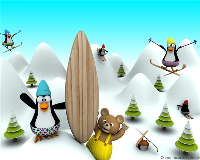 Diversi n en 3d de dibujos animados fondos de escritorio de dise o 9 fondo de pantalla de - Fondos de escritorio animados ...