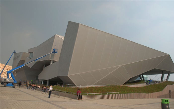 Commissioning of the 2010 Shanghai World Expo (studious works) #21