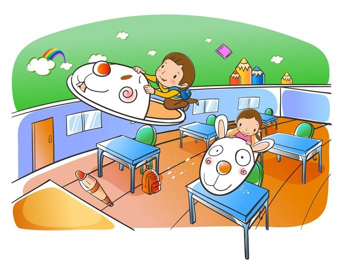Vectores de dibujos animados fondos de escritorio de la infancia 2 6 fondo de pantalla de - Fondos de escritorio animados ...