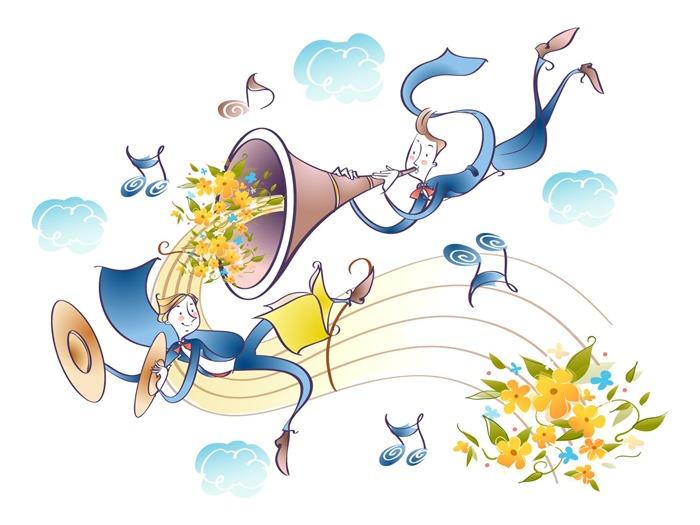 Vector Cartoon music #25