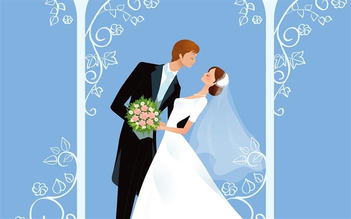 Рисунки с днем у свадьбы