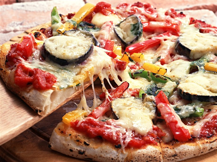Pizza Food Wallpaper (1) #3