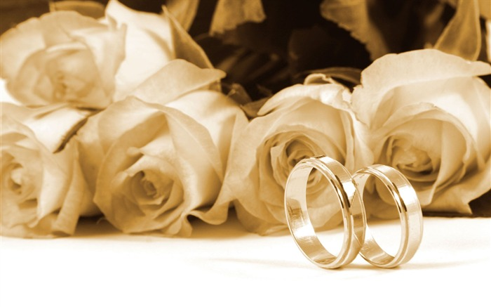 Weddings and wedding ring wallpaper 2 9