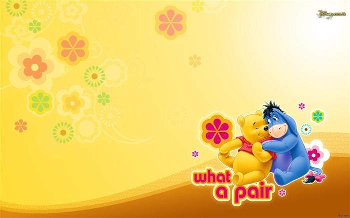 Walt Disney de dibujos animados de Winnie the Pooh fondo de ...