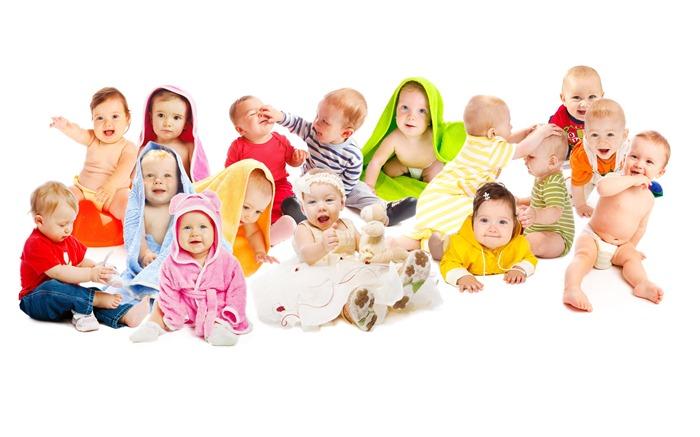 Адаптация малыша к детскому